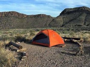Big Bend Backcountry Camping