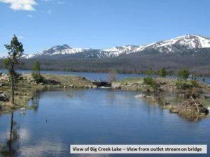 BIG CREEK LAKES CAMPGROUND
