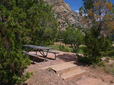 HIDEOUT CANYON BOAT-IN CAMPGROUND