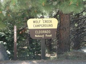 WOLF CREEK CALIFORNIA