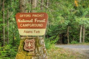 Adams Fork Campground