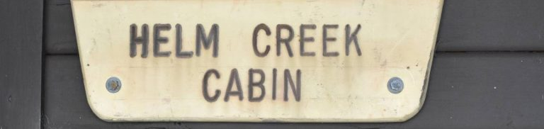 HELM CREEK CABIN