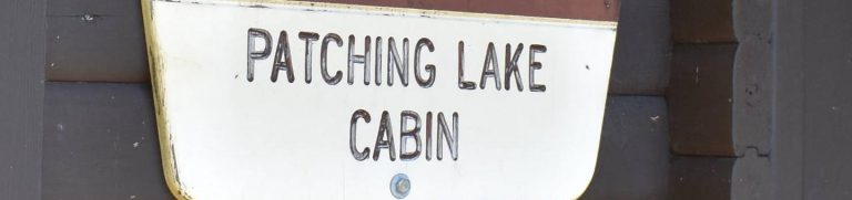 PATCHING LAKE CABIN