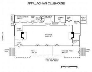 APPALACHIAN CLUBHOUSE