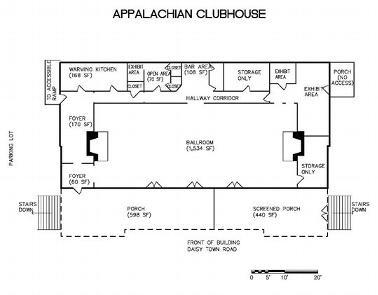 APPALACHIAN CLUBHOUSE