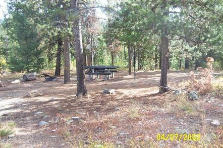 EDNA CREEK CAMPGROUND