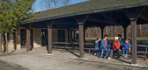 CUYAHOGA VALLEY NATIONAL PARK PICNIC SHELTERS