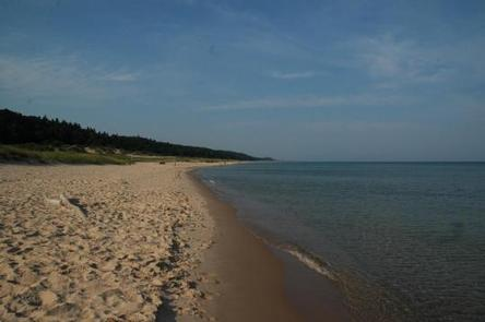 LAKE MICHIGAN AT MANISTEE