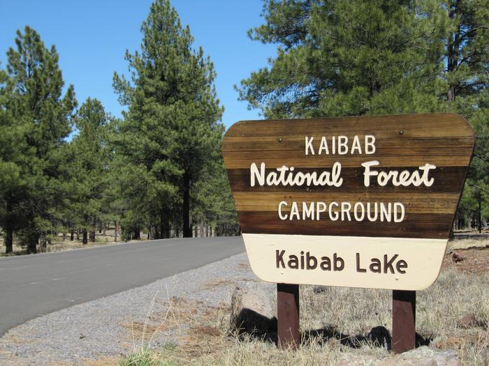 KAIBAB LAKE SITES AND GROUP AREAS