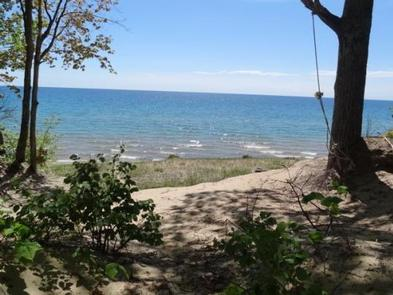 LAKE MICHIGAN AT ST. IGNACE