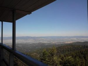 FALL MOUNTAIN LOOKOUT CABIN
