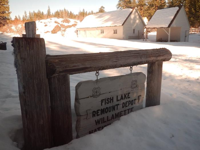 FISH LAKE REMOUNT DEPOT CABINS
