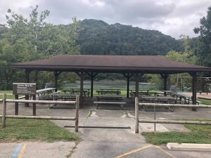 BLUESTONE LAKE PICNIC SHELTER