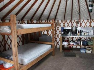 GRIZZLY RIDGE YURT