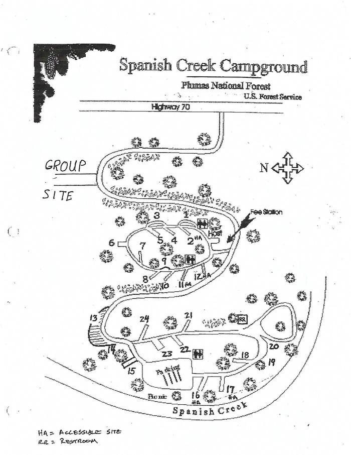 SPANISH CREEK CAMPGROUND
