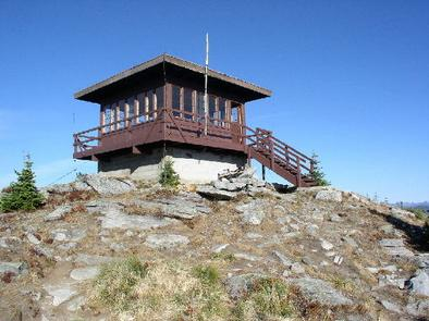 SHORTY PEAK LOOKOUT