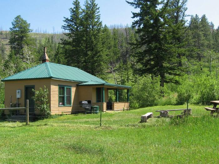 WEST BRIDGER CABIN