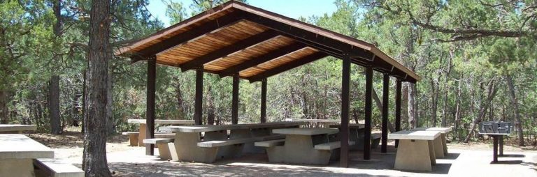 Oak Yucca and Locust Group Picnic Sites