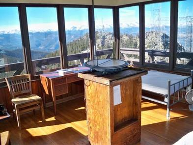 SQUAW MOUNTAIN FIRE LOOKOUT