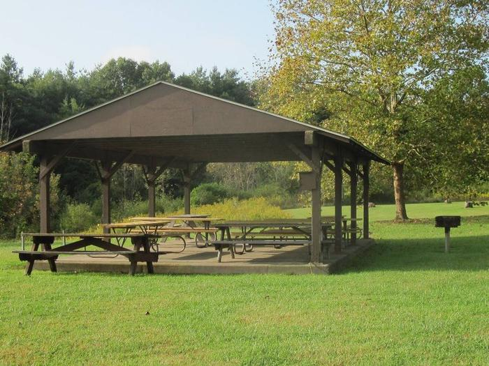 Shenango Lake Mahaney Spruce Cove Trails End Rolling Meadows Skyline Picnic Shelters