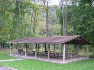 Corbin's Island Picnic Shelter