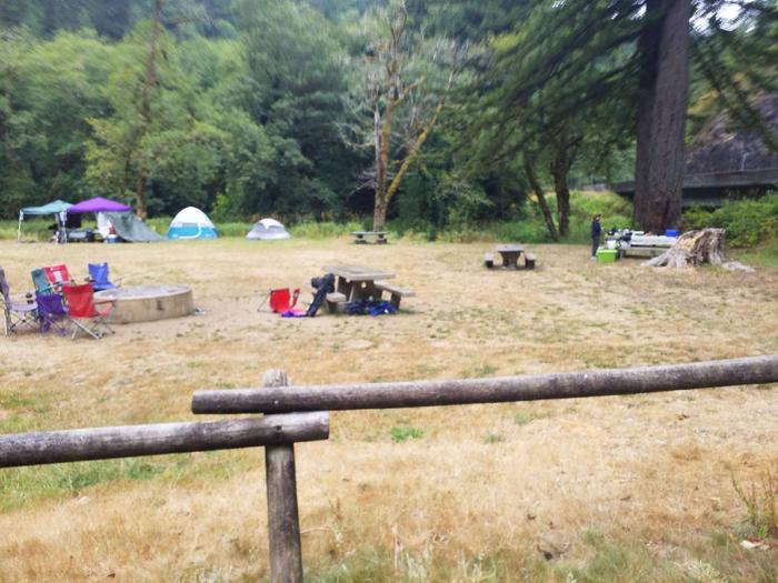 CASTLE ROCK GROUP CAMPGROUND