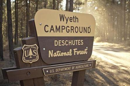 WYETH CAMPGROUND - DESCHUTES