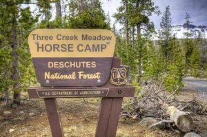 THREE CREEKS MEADOW HORSE CAMP