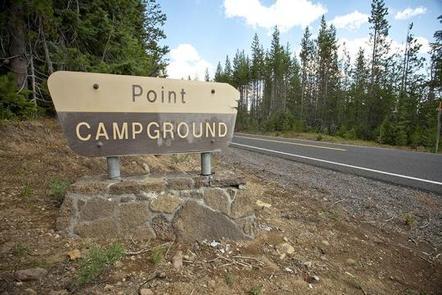 POINT CAMPGROUND - DESCHUTES