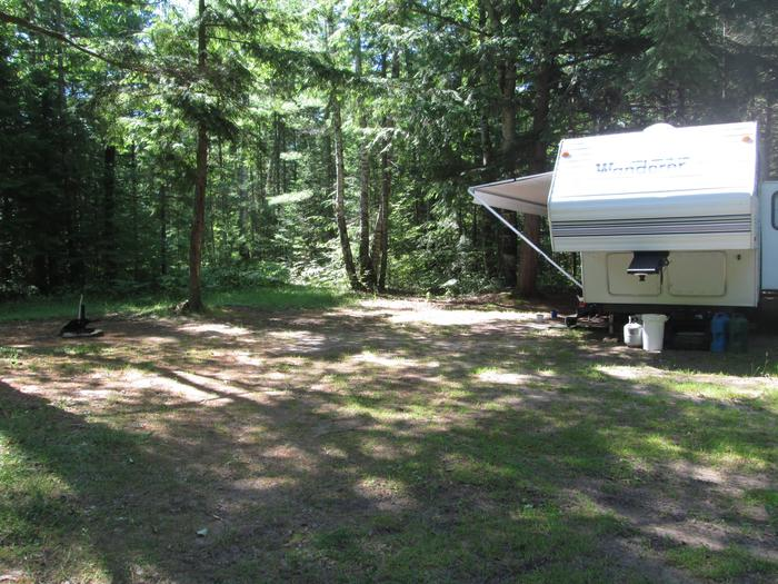 CROOKED LAKE DISPERSED CAMPSITE